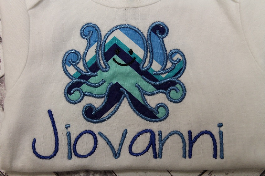Boy Octopus Onesie
