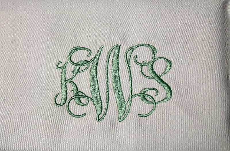 Interlace Script Monogram