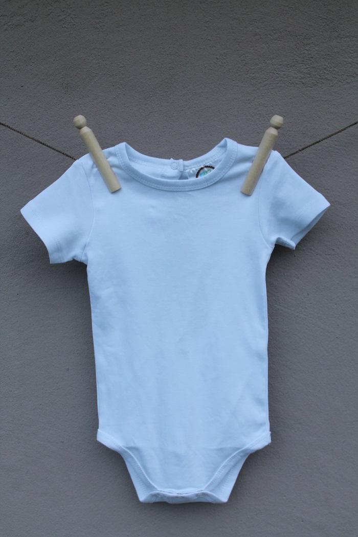 Unisex Short Sleeve Onesie