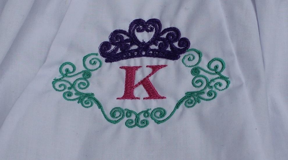 Princess Monogram