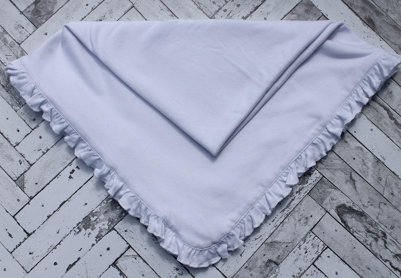 Baby Blanket - Ruffle Edge